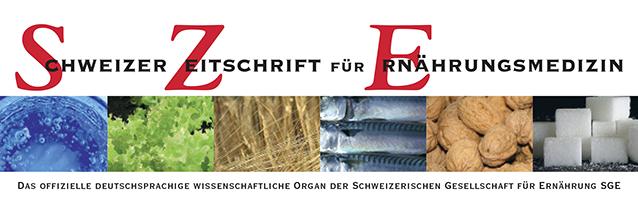 Schweizer Zeitschrift für Ernährungsmedizin