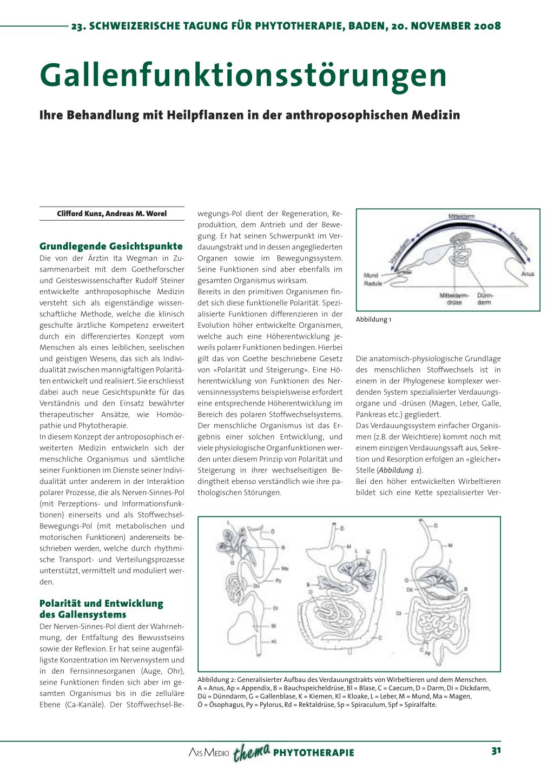 Gallenfunktionsstörungen – Rosenfluh.ch