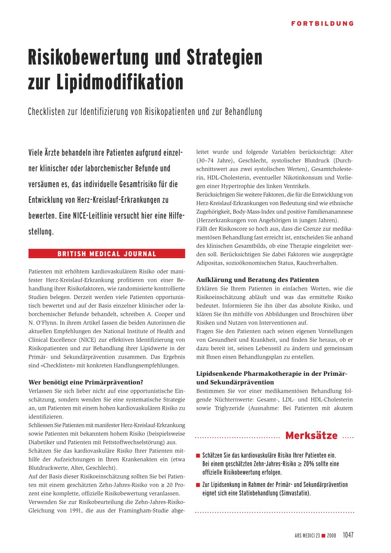 Fantastisch Checkliste Für Risikobewertungen Zeitgenössisch ...