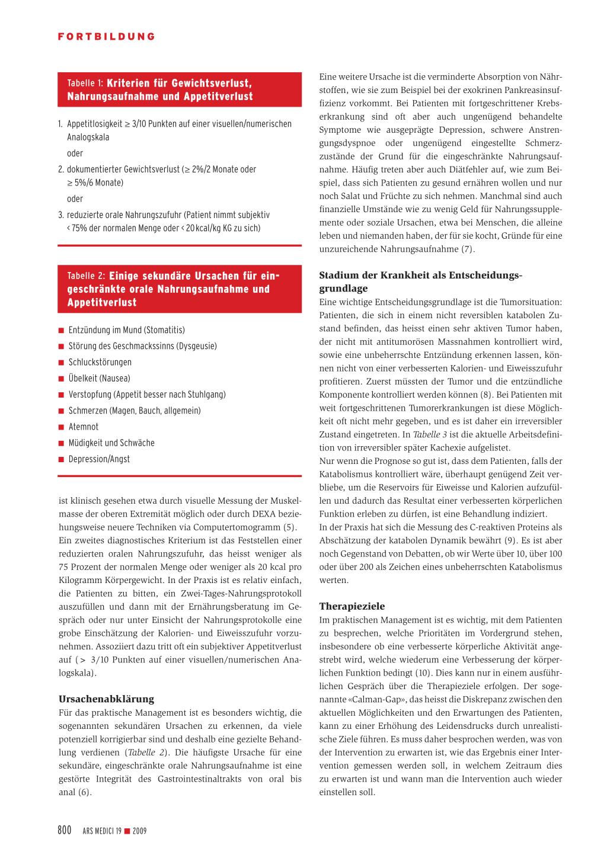 Gewichts Und Appetitverlust Bei Krebspatienten Rosenfluhch