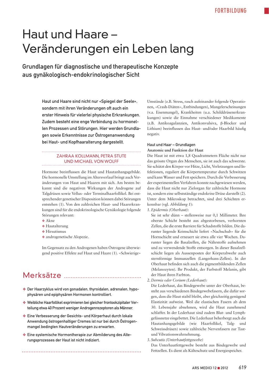 Haut und Haare – Veränderungen ein Leben lang – Rosenfluh.ch