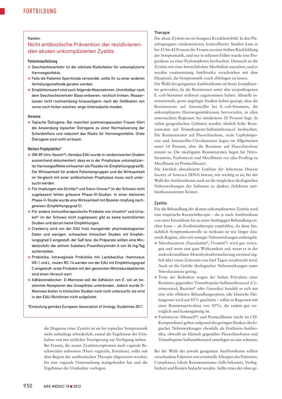 Impfung kosten strovac Rezidivierende Harnwegsinfektionen: