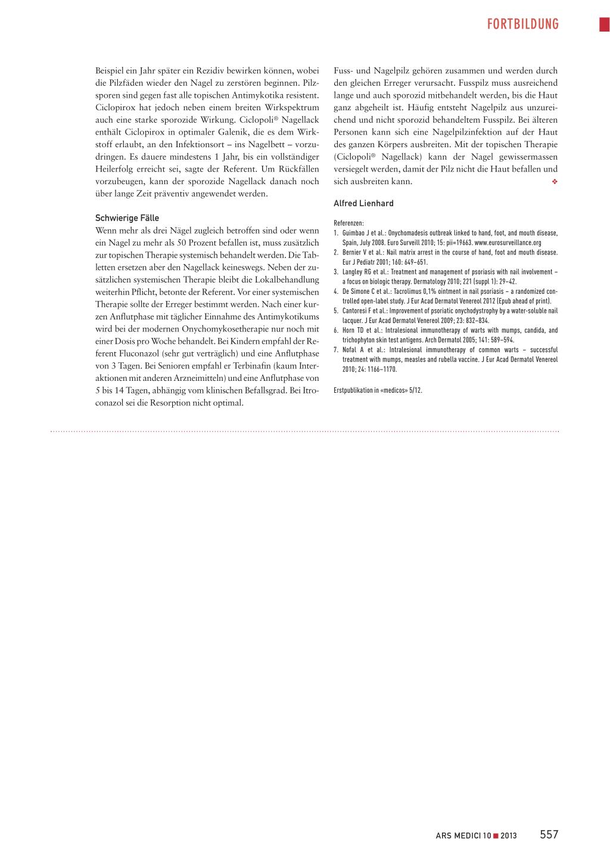 Nagelerkrankungen – Rosenfluh.ch
