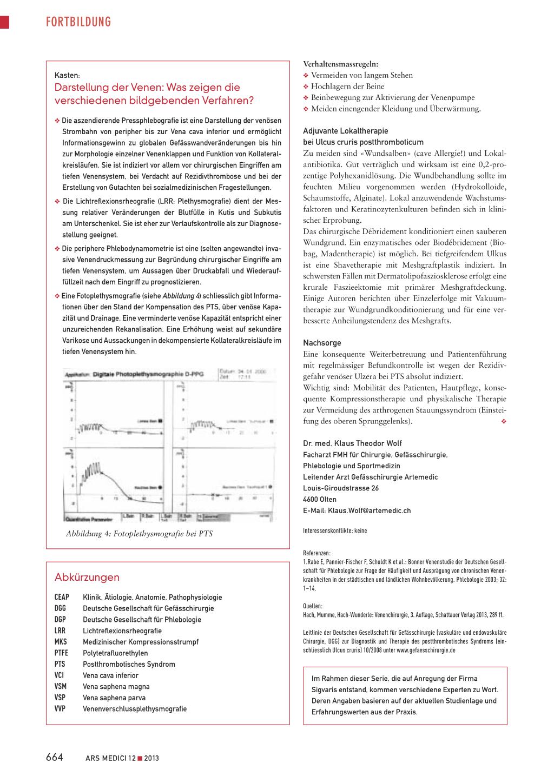 Postthrombotisches Syndrom – Rosenfluh.ch