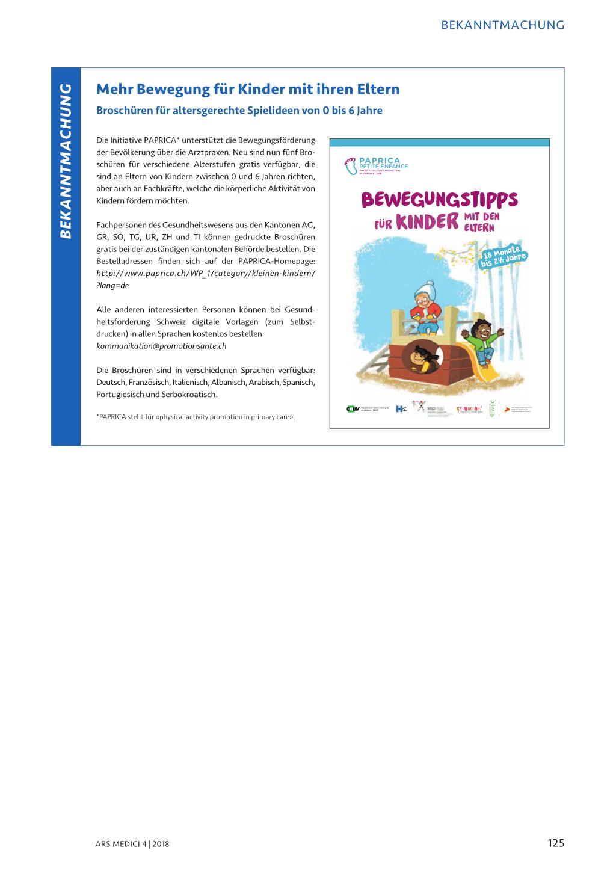 Mehr Bewegung für Kinder mit ihren Eltern – Rosenfluh.ch