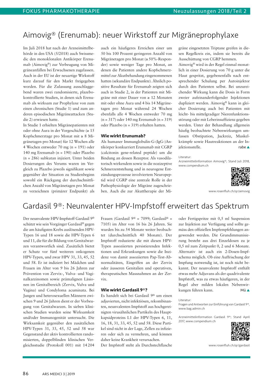 hpv impfung compendium