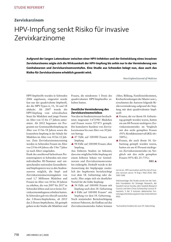 Gardasil: Erfahrungen & Nebenwirkungen | sanego