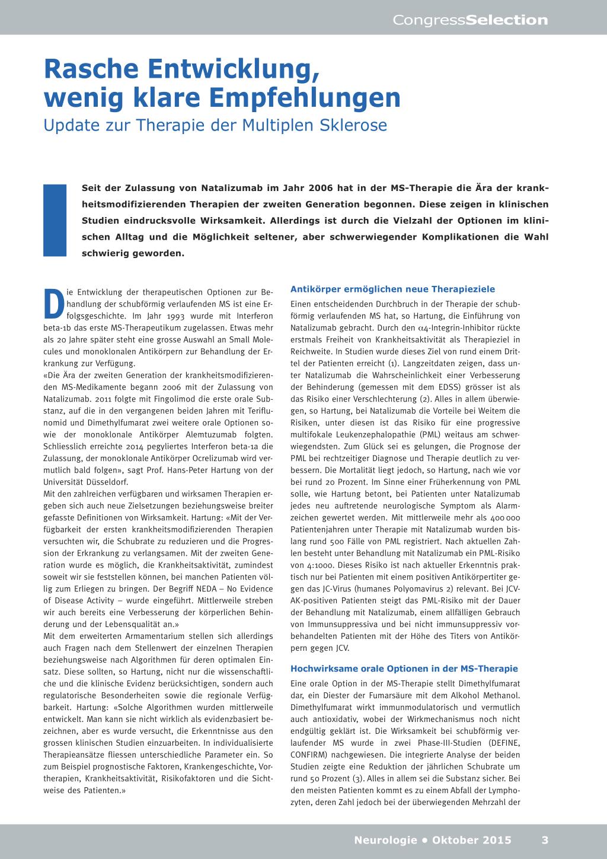 Rasche Entwicklung, wenig klare Empfehlungen – Rosenfluh.ch