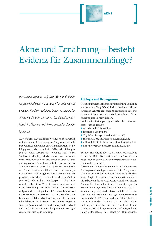 Diät und Akne pdf