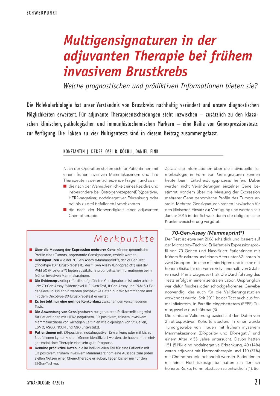 623f361370 Neues zur adjuvanten endokrinen Therapie des Mammakarzinoms Impfen bei  Frauen im konzeptionellen Alter →