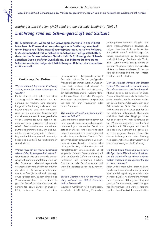 Ernährung rund um Schwangerschaft und Stillzeit – Rosenfluh.ch