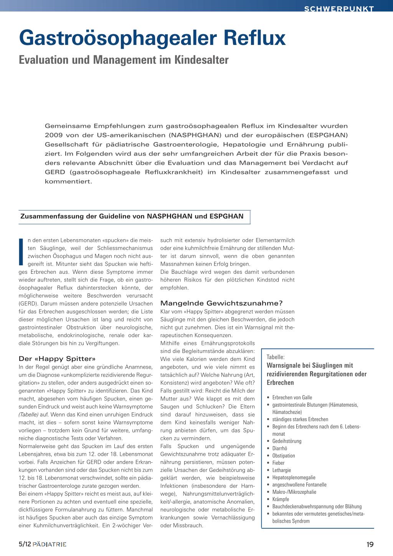 Gastroösophagealer Reflux – Rosenfluh.ch
