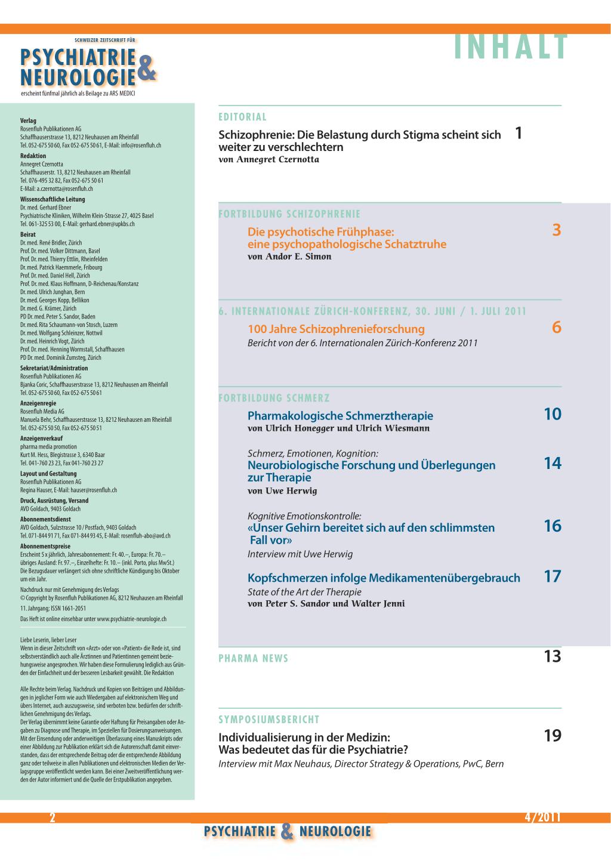 Inhaltsverzeichnis Rosenfluhch